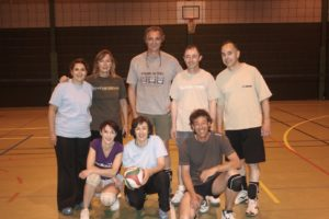 La section de volley-ball