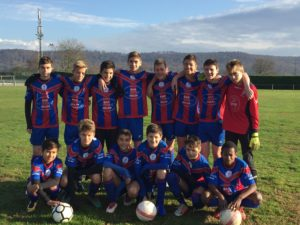 Football : nos U15 ont visé l'Excellence !