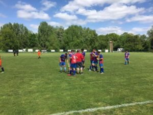 Foot : on retiendra la demie des U15 !