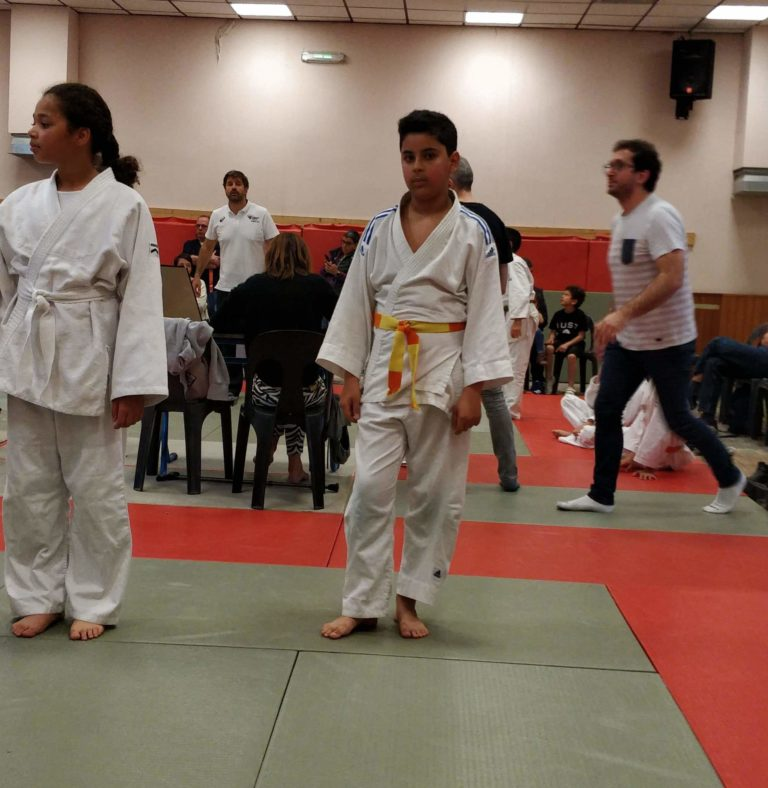 Judo : Aymen à la Section Paloise !